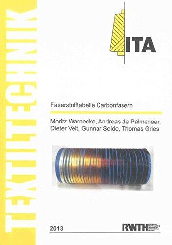 9783844023756: Faserstofftabelle Carbonfasern / Fibre-Table Carbon Fibres