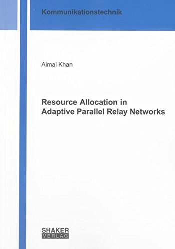 Resource Allocation in Adaptive Parallel Relay Networks: Aimal Khan