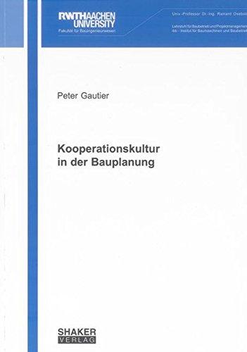 Kooperationskultur in der Bauplanung: Peter Gautier