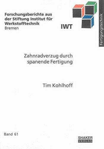 Zahnradverzug durch spanende Fertigung: Tim Kohlhoff