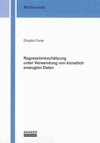 Regressionsschätzung unter Verwendung von künstlich erzeugten Daten: Dmytro Furer