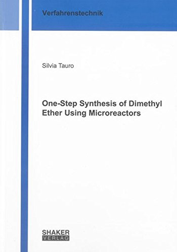 One-Step Synthesis of Dimethyl Ether Using Microreactors: Silvia Tauro