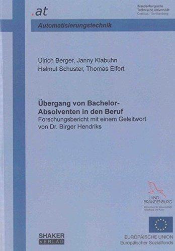 Übergang von Bachelor-Absolventen in den Beruf: Ulrich Berger