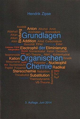 9783844028492: Grundlagen der Organischen Chemie: 3. Korrigierte Auflage: 1 (Berichte aus der Chemie)