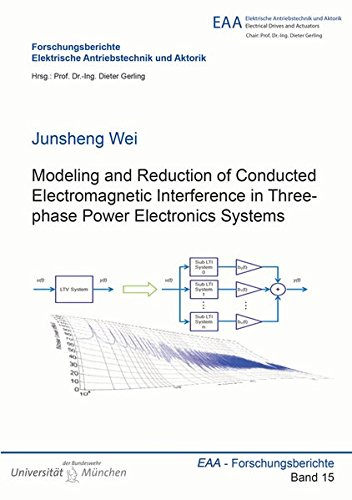 9783844035124: Modeling and Reduction of Conducted Electromagnetic Interference in Three-Phase Power Electronics Systems: 1 (Forschungsberichte Elektrische Antriebstechnik und Aktorik)