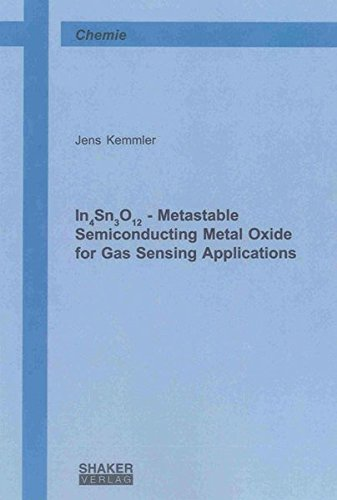 9783844039092: In4Sn3O12 - Metastable Semiconducting Metal Oxide for Gas Sensing Applications: 1 (Berichte aus der Chemie)