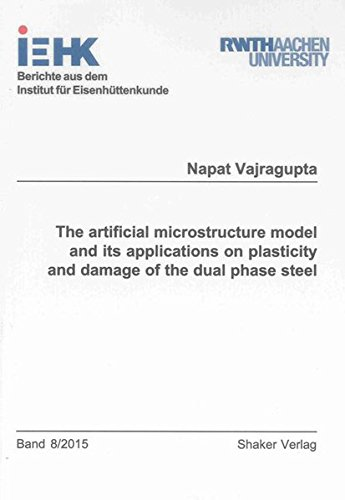9783844039306: The Artificial Microstructure Model and its Applications on Plasticity and Damage of the Dual Phase Steel (Berichte aus dem Institut fur Eisenhuttenkunde)