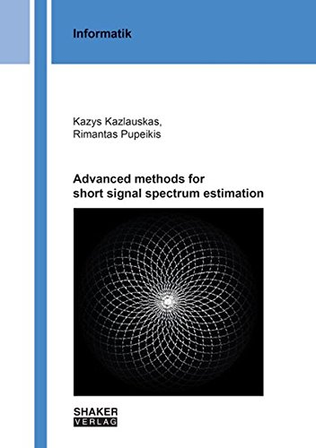 9783844045246: Advanced Methods for Short Signal Spectrum Estimation: 1