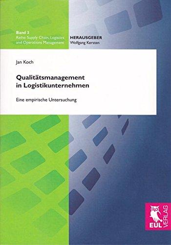 Qualitätsmanagement in Logistikunternehmen: Jan Koch