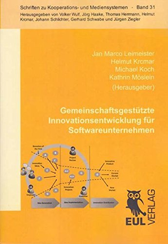 Gemeinschaftsgestützte Innovationsentwicklung für Softwareunternehmen: Jan Marco ...
