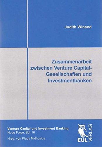 9783844101355: Zusammenarbeit zwischen Venture Capital-Gesellschaften und Investmentbanken