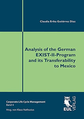 9783844102581: Analysis of the German EXIST-II-Program and its Transferability to Mexico