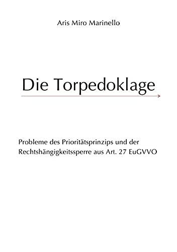 9783844235876: Die Torpedoklage