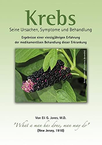 9783844236248: Krebs: Seine Ursachen, Symptome und Behandlung