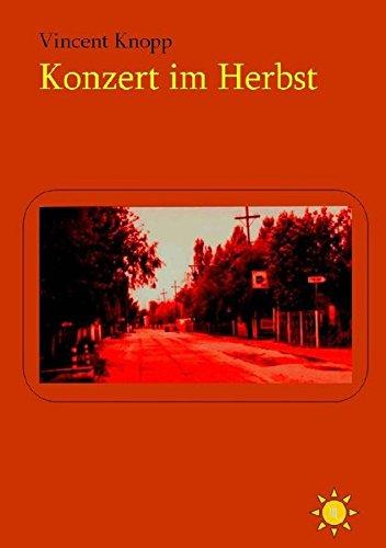 9783844244106: Konzert im Herbst (German Edition)