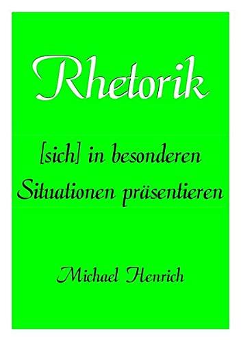 9783844245738: Rhetorik (German Edition)