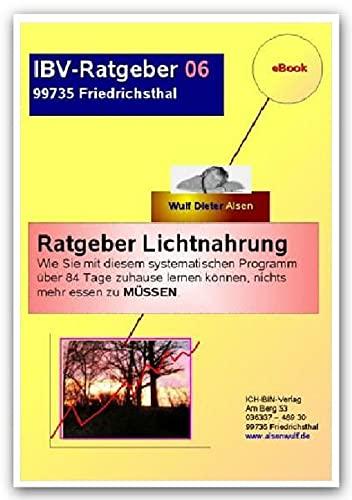 9783844248111: Ratgeber Lichtnahrung