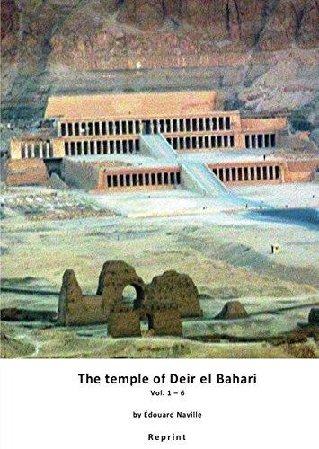 9783844268409: The temple of Deir el Bahari