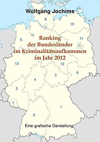 9783844290592: Ranking der Bundesländer im Kriminalitätsaufkommen im Jahr 2012 (German Edition)