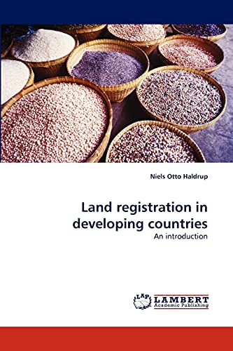 9783844300383: Land registration in developing countries: An introduction