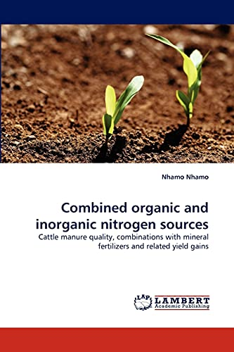9783844301861: Combined organic and inorganic nitrogen sources