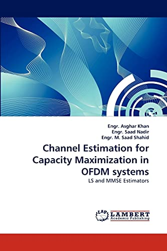 Channel Estimation for Capacity Maximization in Ofdm: Engr Asghar Khan,