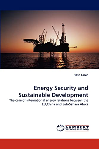 Energy Security and Sustainable Development