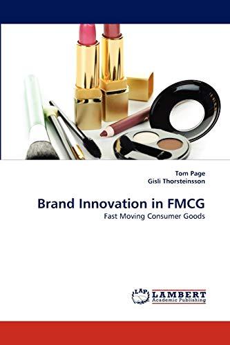 9783844316117: Brand Innovation in FMCG: Fast Moving Consumer Goods