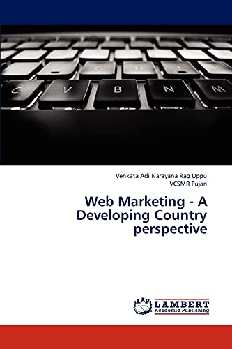 9783844316544: Web Marketing - A Developing Country perspective