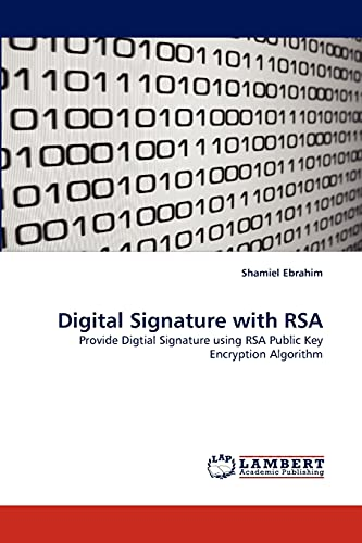 9783844324310: Digital Signature with RSA