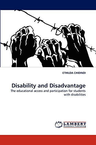9783844331578: Disability and Disadvantage: The educational access and participation for students with disabilities
