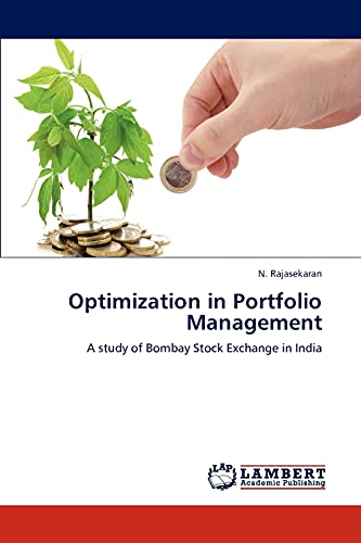 9783844333909: Optimization in Portfolio Management: A study of Bombay Stock Exchange in India