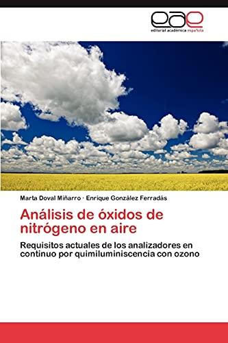 Analisis de Oxidos de Nitrogeno En Aire: Rosell Pent� n Guevara