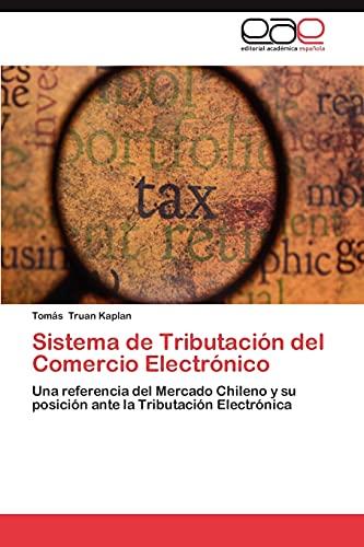 9783844338188: Sistema de Tributacion del Comercio Electronico
