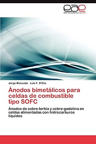 Anodos Bimetalicos Para Celdas de Combustible Tipo: Jorge Moncada