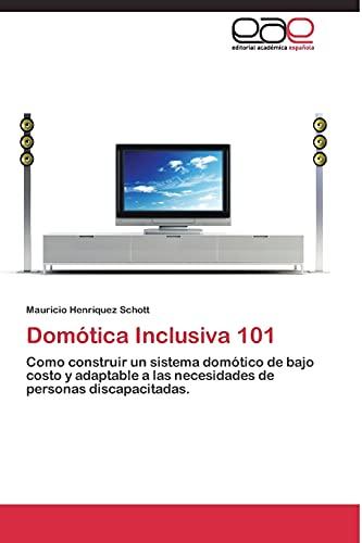 9783844339727: Domótica Inclusiva 101