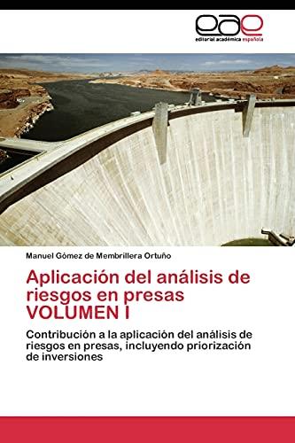 9783844340990: Aplicación del análisis de riesgos en presas VOLUMEN I