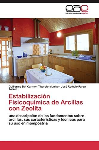 9783844341478: Estabilización Fisicoquímica de Arcillas con Zeolita