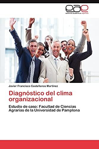 9783844341676: Diagnostico del Clima Organizacional