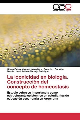 9783844343069: La iconicidad en biología. Construcción del concepto de homeostasis: Estudio sobre su importancia como estructurante epistémico en estudiantes de educación secundaria en Argentina (Spanish Edition)