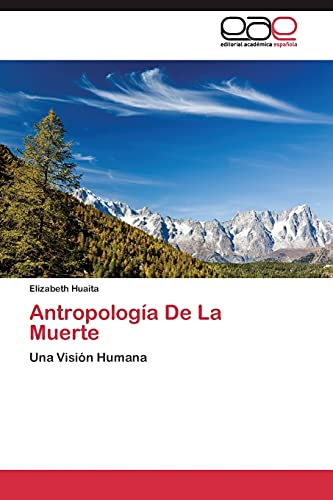 9783844343878: Antropología De La Muerte