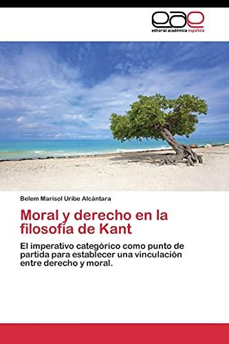 Moral y derecho en la filosofía de Kant: Belem Marisol Uribe Alcántara