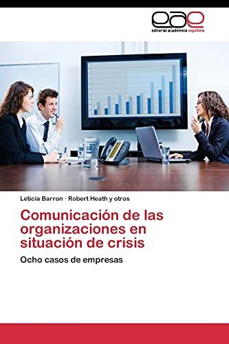 9783844345483: Comunicación de las organizaciones en situación de crisis