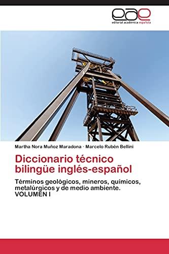 9783844346039: Diccionario técnico bilingüe inglés-español