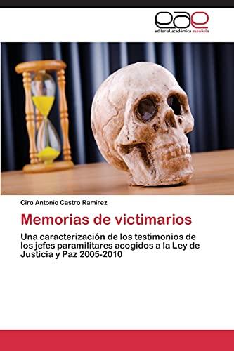 Memorias de victimarios: Ciro Antonio Castro Ramirez