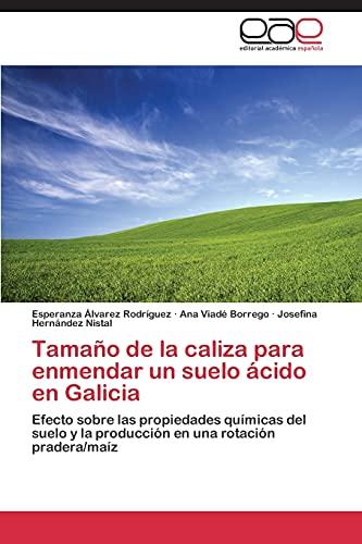 9783844348309: Tamaño de la caliza para enmendar un suelo ácido en Galicia: Efecto sobre las propiedades químicas del suelo y la producción en una rotación pradera/maíz (Spanish Edition)