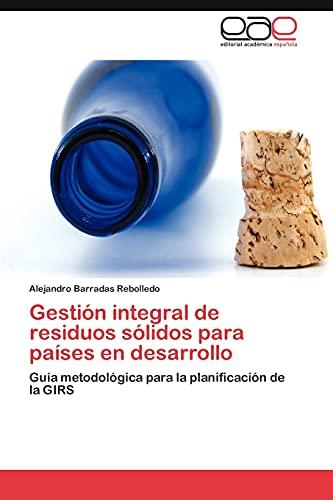 9783844349993: Gestión integral de residuos sólidos para países en desarrollo