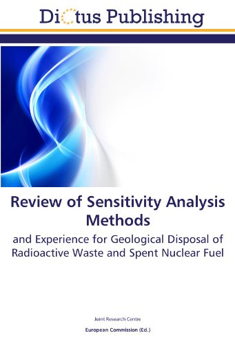 9783844363722: Review of Sensitivity Analysis Methods: and Experience for Geological Disposal of Radioactive Waste and Spent Nuclear Fuel