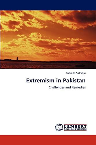 Extremism in Pakistan: Tabinda Siddiqui