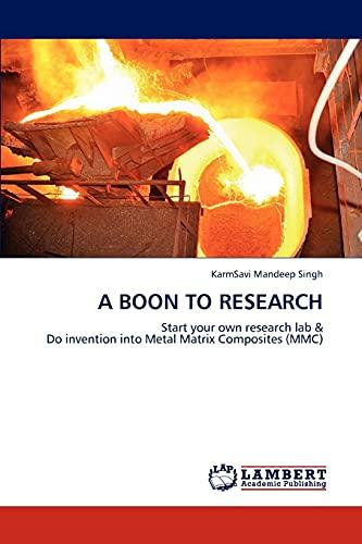 A Boon to Research: Singh Karmsavi Mandeep